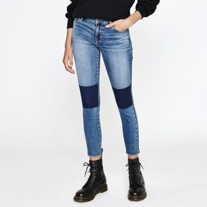 BRAND NEW Pacsun color block jeans!